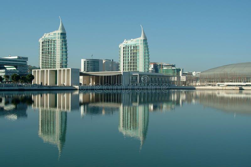 взгляд города самомоднейший стоковая фотография