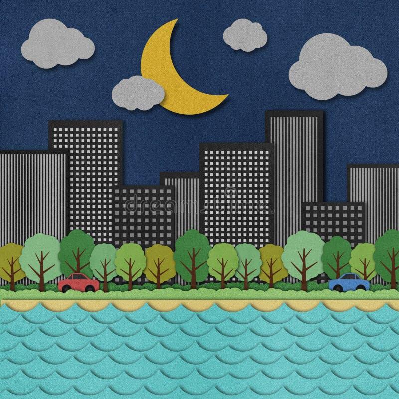 Взгляд города бесплатная иллюстрация