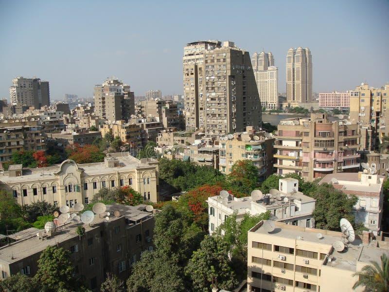 взгляд города стоковая фотография rf
