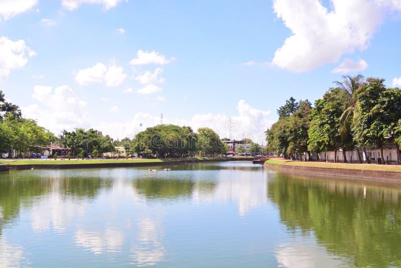 Взгляд городка Buriram стоковое изображение rf