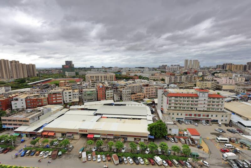 Взгляд городка Xindian новый, саман rgb стоковые изображения