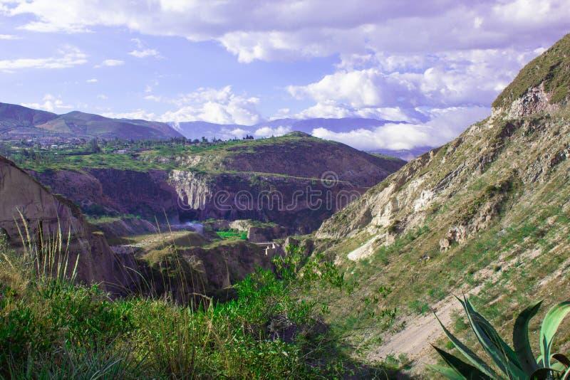 Взгляд гор и хляби Ландшафт стоковые изображения rf