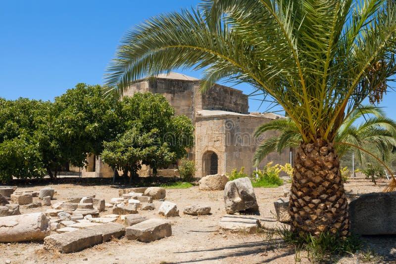 взгляд Греции gortyn Крита стоковая фотография