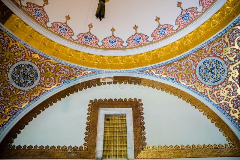 Взгляд дворца Топкапы в Стамбуле, Турции стоковые изображения rf