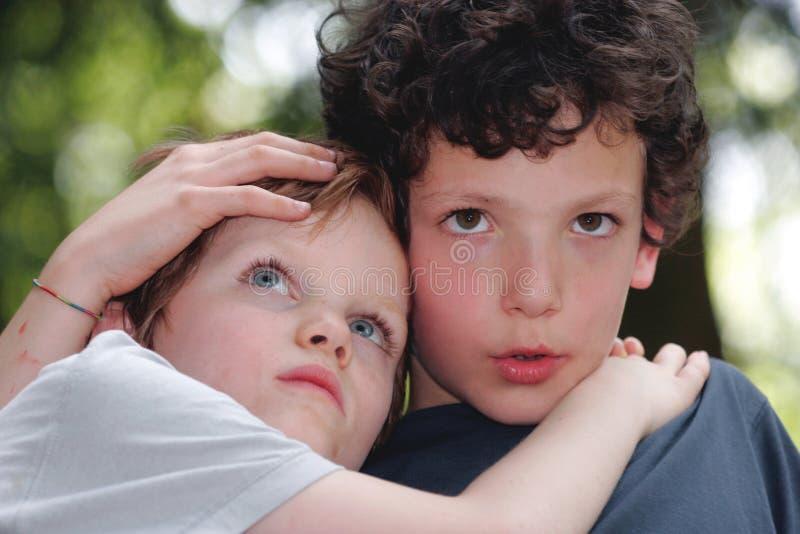 взгляд детей стоковые изображения