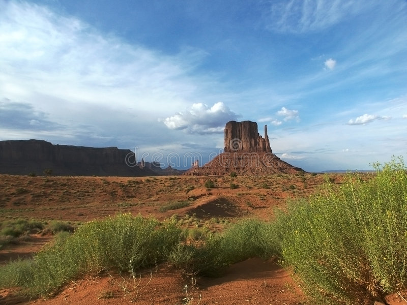 взгляд долины памятника стоковые фото