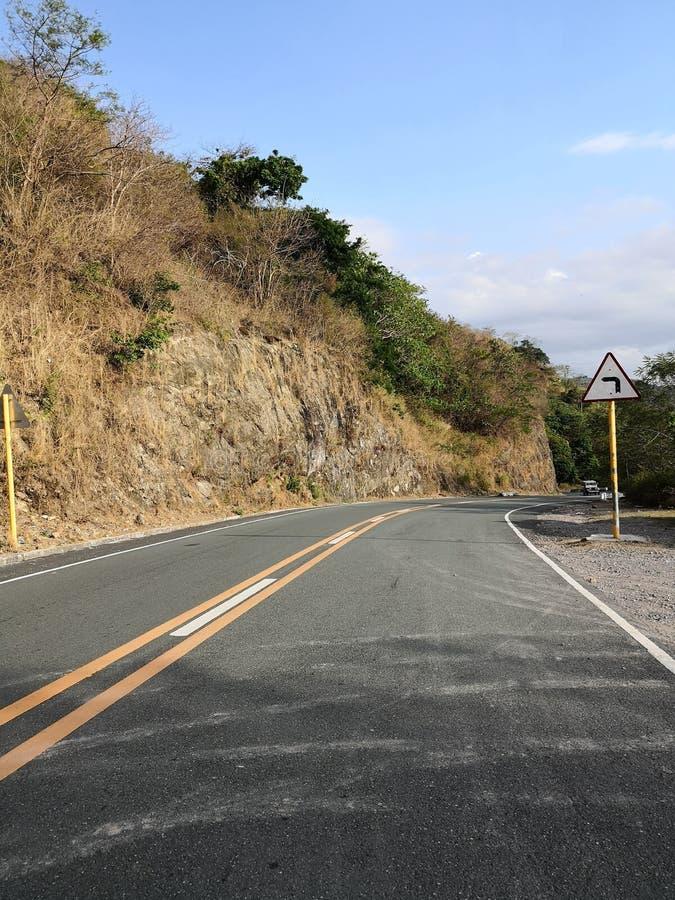 Взгляд дороги стоковое изображение