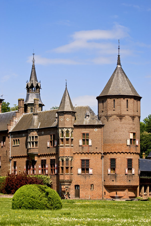 взгляд замока стоковая фотография rf
