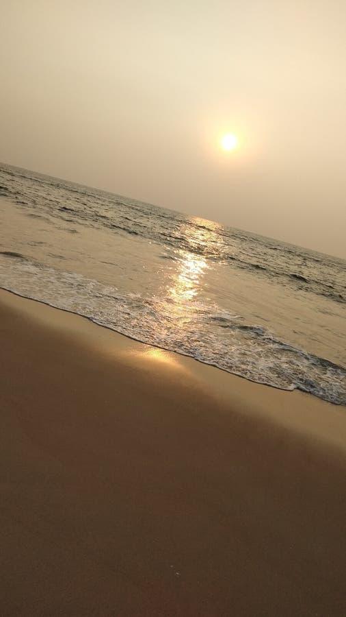 Взгляд захода солнца стоковые изображения