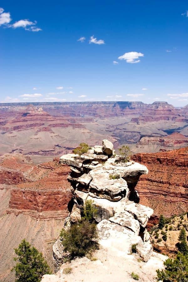 взгляд каньона грандиозный сценарный стоковые изображения rf