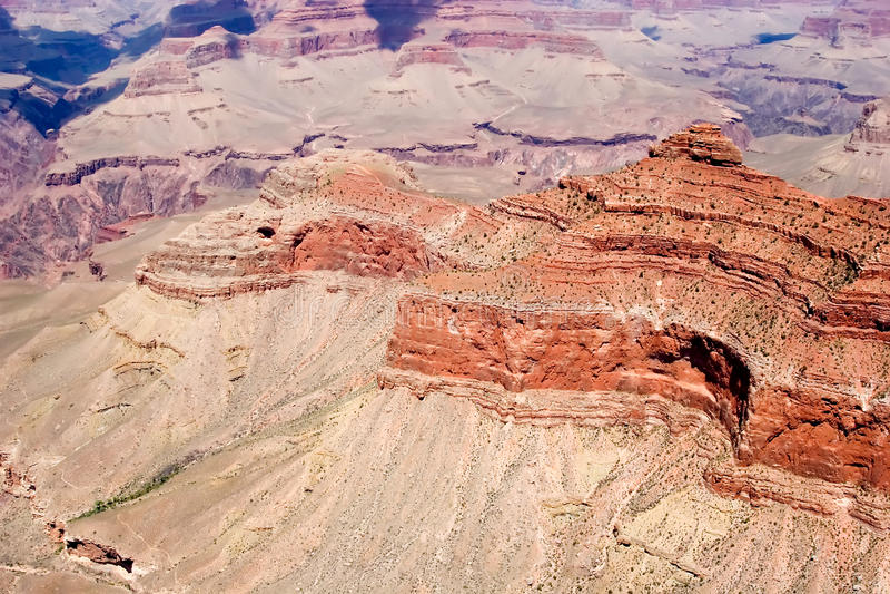 взгляд каньона грандиозный сценарный стоковое фото rf