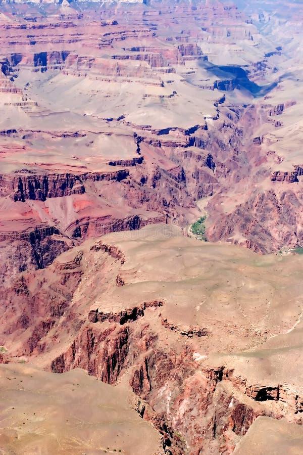 взгляд каньона грандиозный сценарный стоковое фото