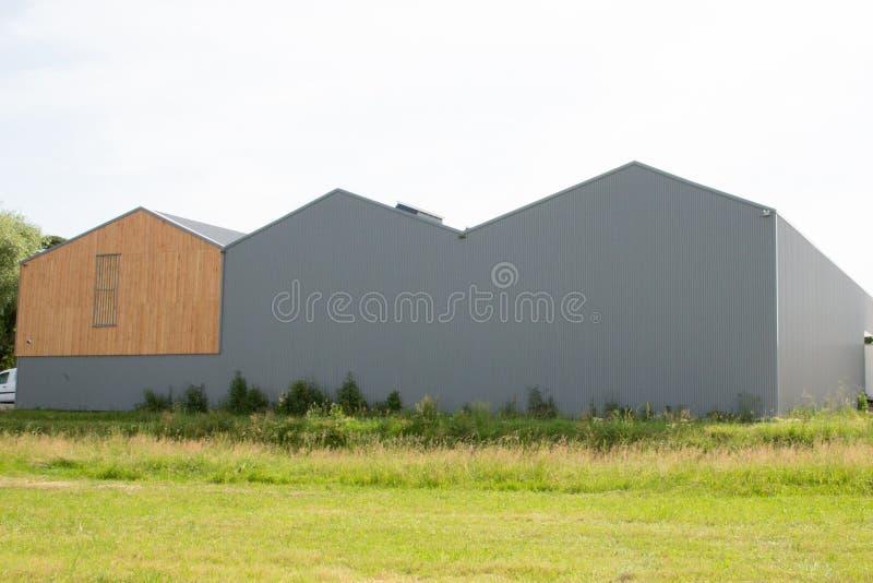 взгляд компании размещает штаб с складом и офисами стоковое фото rf