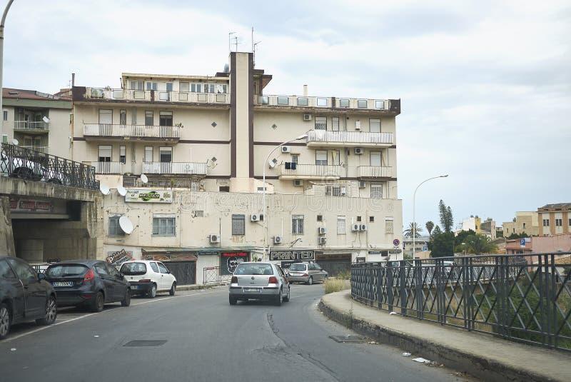 Взгляд конечных станций Imerese стоковая фотография