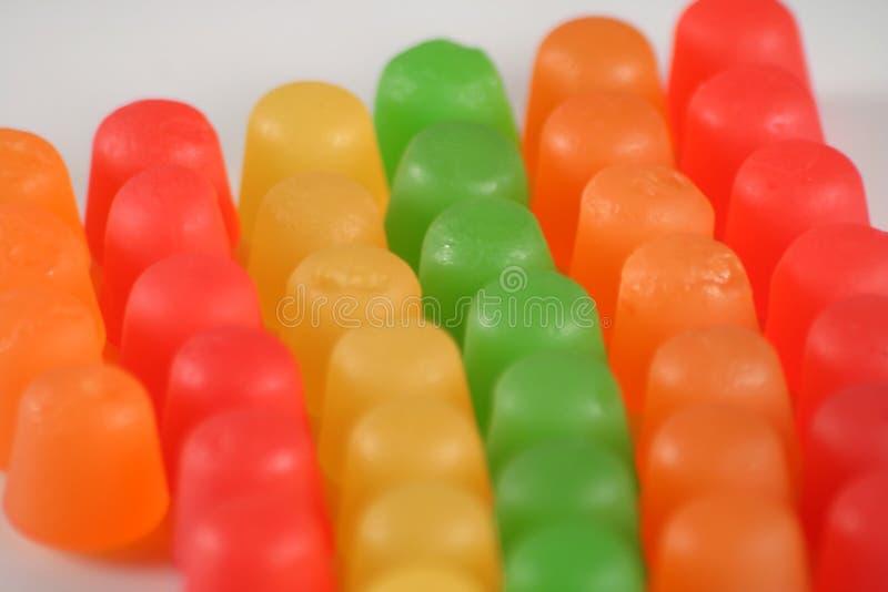 взгляд конфеты польностью камедеобразный стоковое фото rf