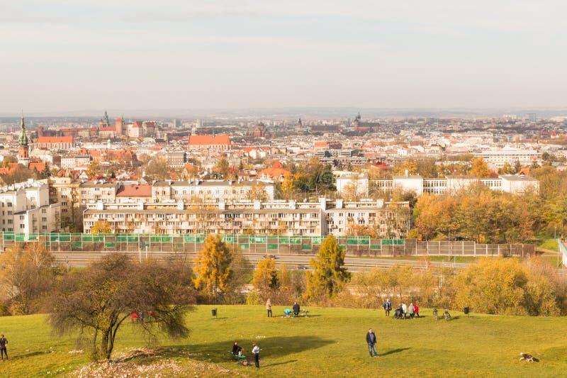 Взгляд Кракова 2 стоковое фото rf