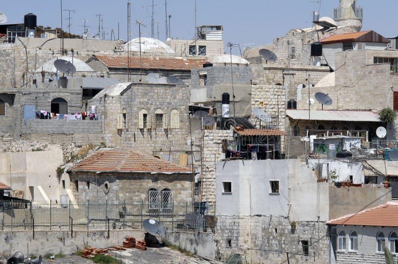 взгляд крыши Иерусалима стоковые фото