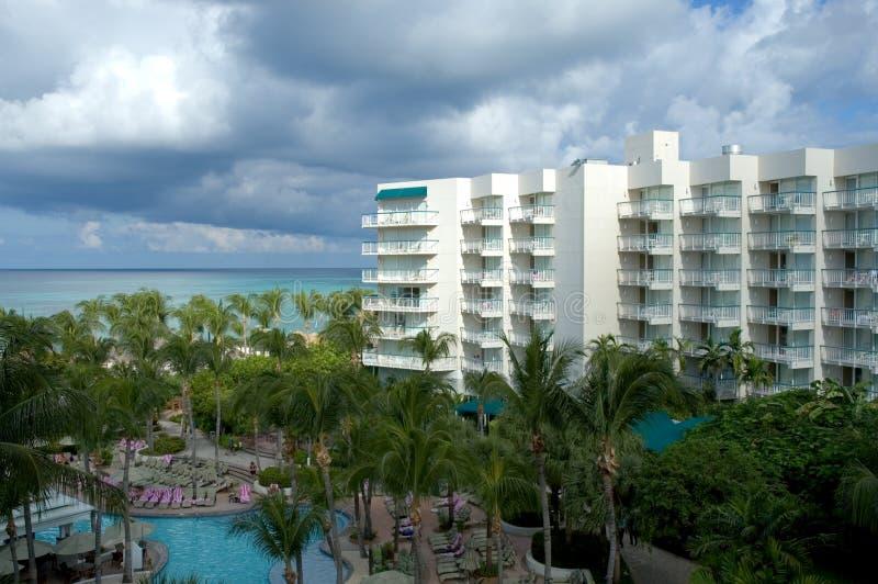 взгляд курорта стоковое изображение