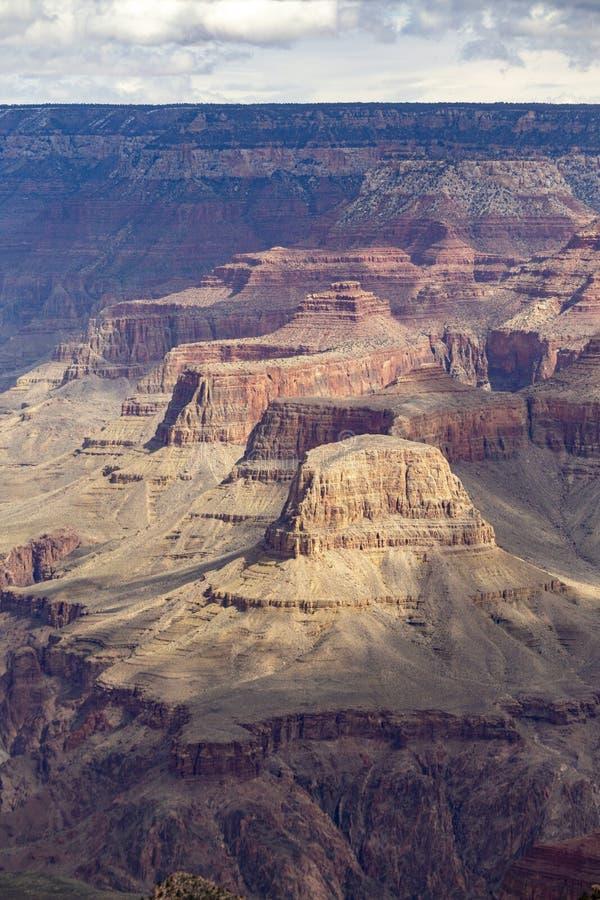 Взгляд к гранд-каньону стоковая фотография rf