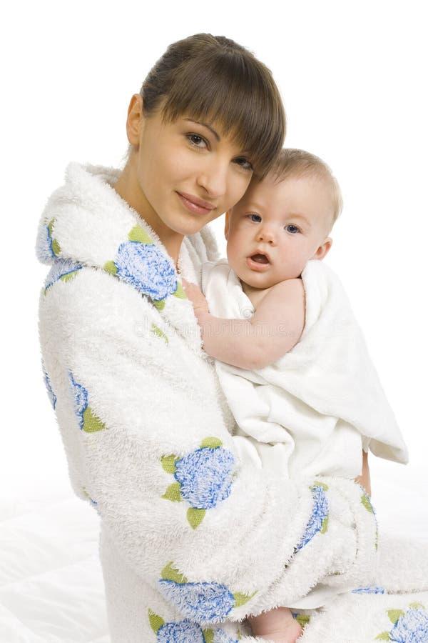 взгляд младенца мой стоковые изображения rf