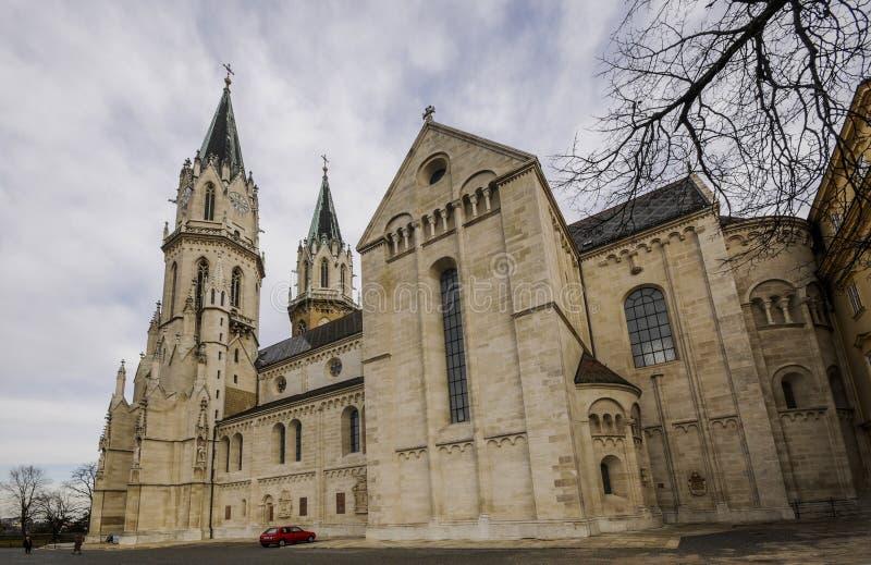 Взгляд монастыря Клостернойбурга стоковое фото
