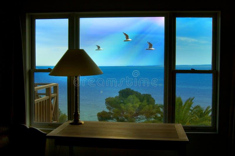 взгляд моря стоковые фотографии rf