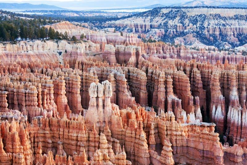Взгляд национального парка каньона Bryce в Юте стоковые фото