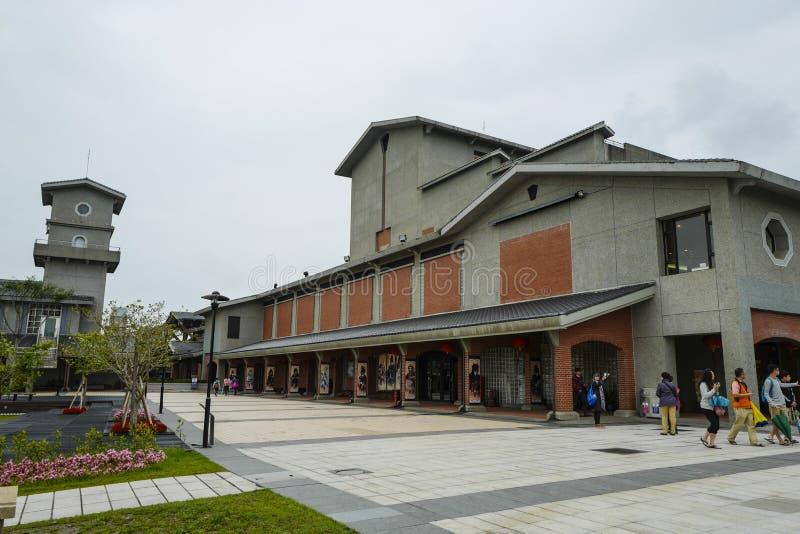 Взгляд национального центра для традиционных искусств, или также вызвал центр для традиционных искусств расположен речным берегом стоковое изображение rf