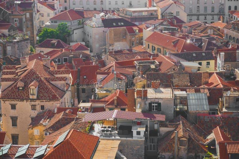 Взгляд на городе разделения стоковое фото rf