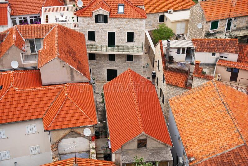 Взгляд на крышах стоковые фотографии rf