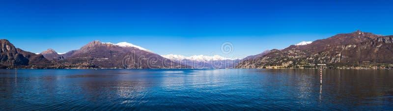 Взгляд на озере Como стоковая фотография rf
