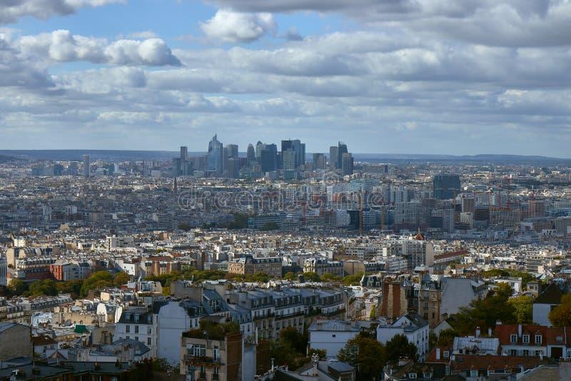 Взгляд на Париже, Франции стоковые фотографии rf