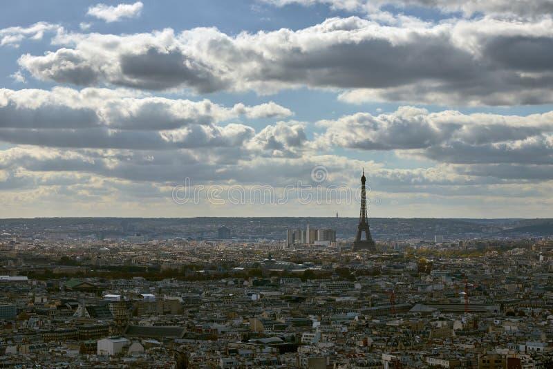 Взгляд на Париже, Франции стоковая фотография rf