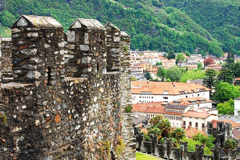 Взгляд на старом городке Bern стоковая фотография rf