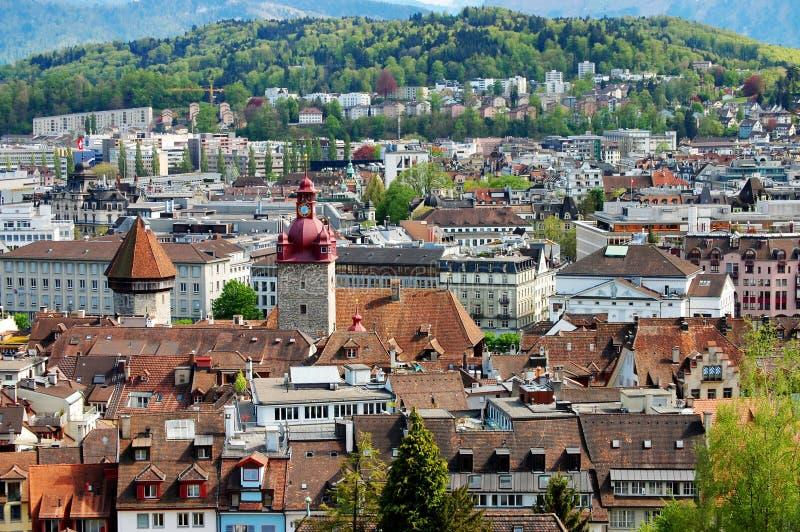 Взгляд на старом городке Bern стоковые изображения rf