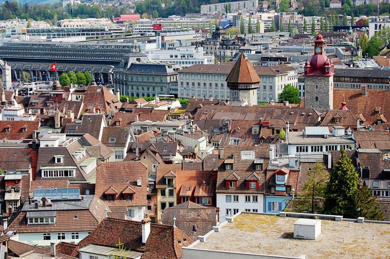Взгляд на старом городке Bern стоковая фотография