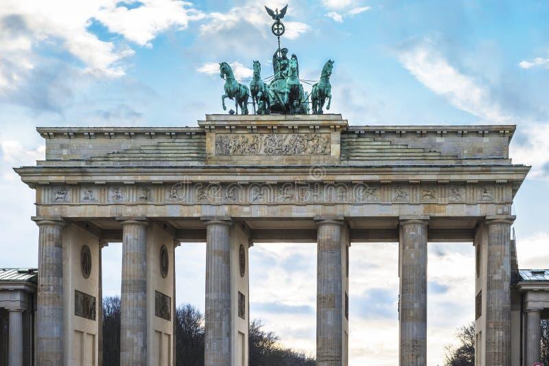 Взгляд на стробе Бранденбурга стоковые фото