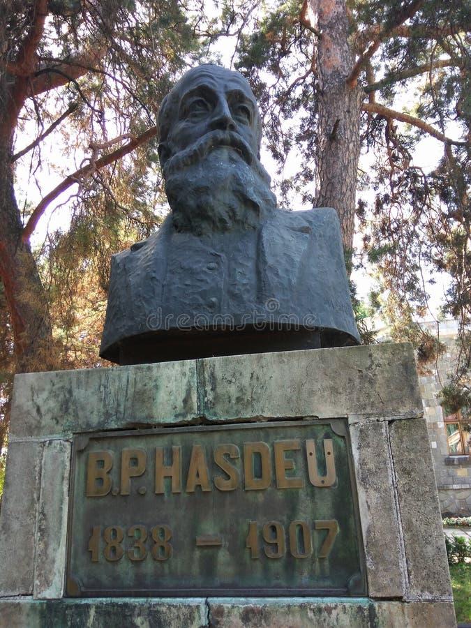 Взгляд на Bogdan Petriceicu Hasdeu стоковые изображения