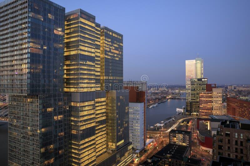 Взгляд на ` De Роттердама ` стоковые изображения rf