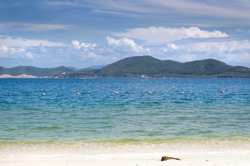 Взгляд острова Hong Che в море южного Китая стоковые изображения rf