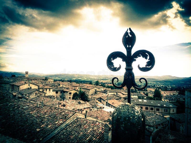 Взгляд от дороги паломника стоковое изображение