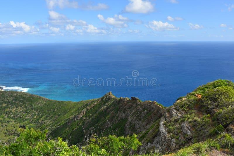 Взгляд от кратера Koko стоковое фото