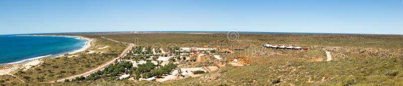 Взгляд от маяка в захолустье Австралии стоковые фото