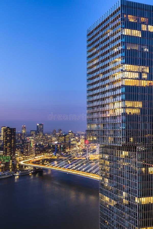 Взгляд от Нового Орлеана строя Роттердам стоковое изображение rf