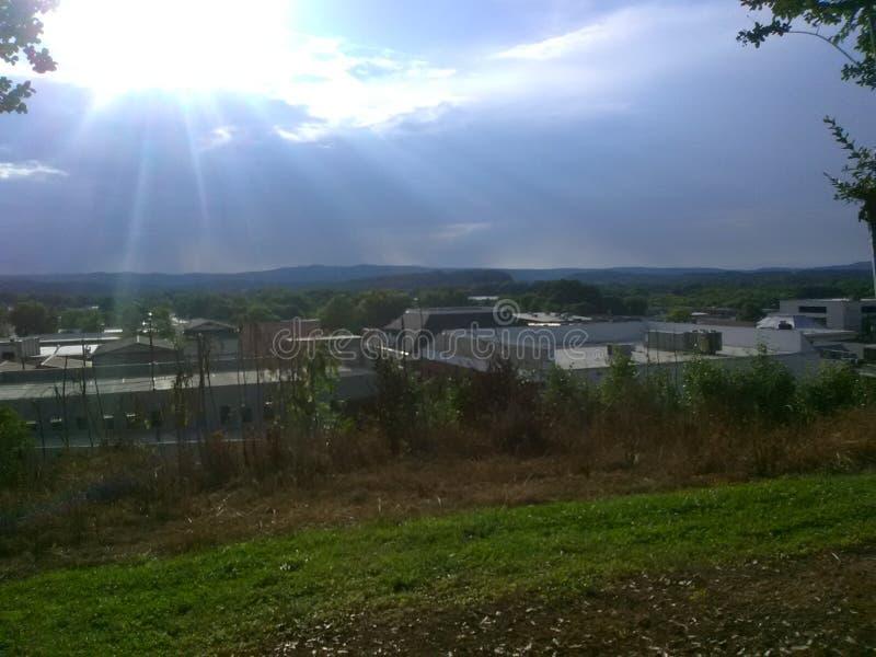 Взгляд от afar стоковое изображение rf