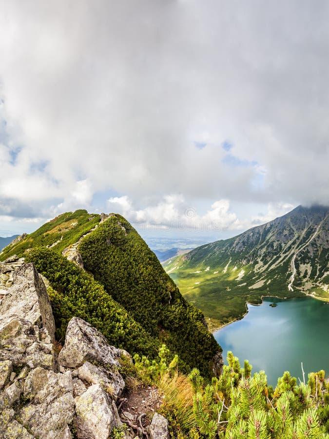 Взгляд от Krab в горах Tatra, Польши, Европы стоковое фото rf