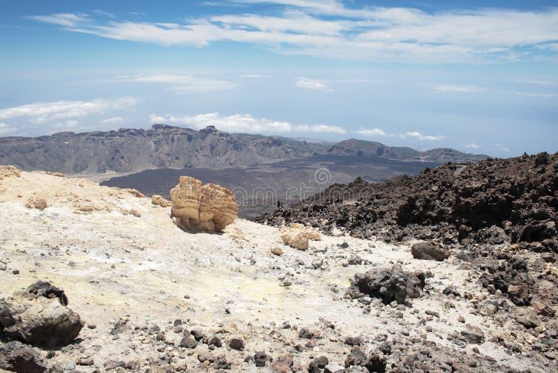 Взгляд от Teide стоковая фотография