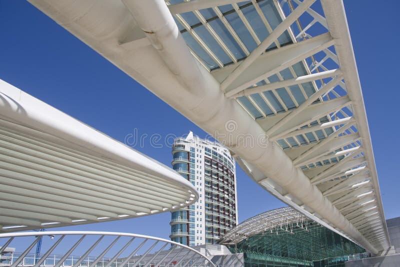 взгляд офиса города зданий городской внешний стоковые изображения rf