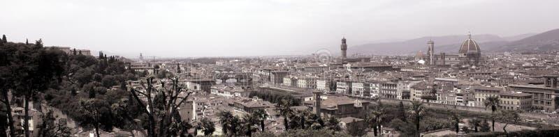 взгляд панорамы firenze florence стоковое фото rf