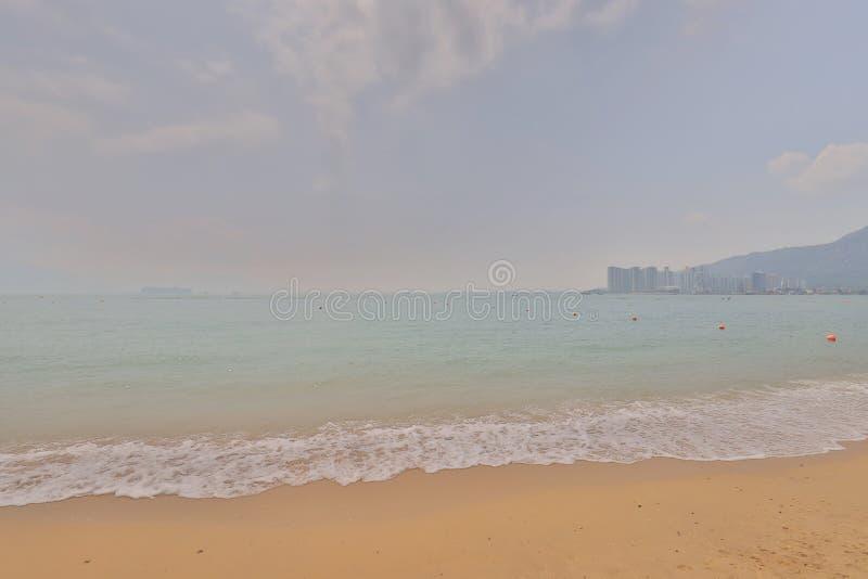 Взгляд пляжа столовой залива пика замка стоковые изображения